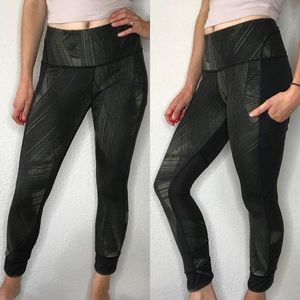 Lululemon 7/8 running pants